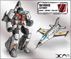 Skydive redesign by DavimusPrime