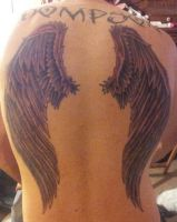 Wing Tattoo by Dalton10193