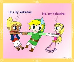 Toon Link V-day Contest Entry by tie-dye-flag