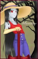 Marceline Vampire Queen by markeroption
