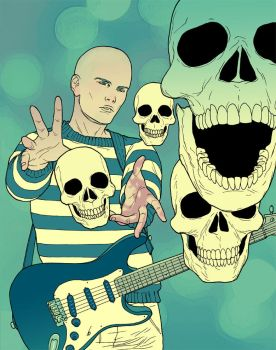 Rock on Billy by amilcar-pinna