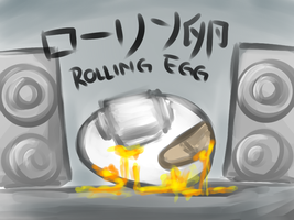 ROLLING EGG by emtracey