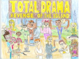 Total Drama Revenge of the Island Cast by ArtFanJa55