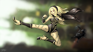 Kat - Gravity Rush / Daze by slash000