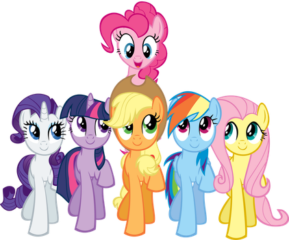 Pinkie Pie and Friends SMILE! by Dragnmastralex