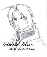 Edward Elric 2 by ClowKusanagi