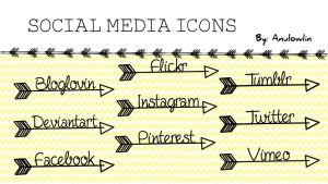 Social Media Icons Pack 9 by Anulowlin
