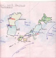 Free hand map by Pictwii