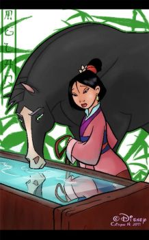 Mulan by chocolatecherry