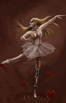 Ballet dancer N1 by Eleesar