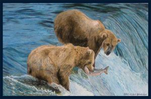 Grizzly Bears by Brendan65