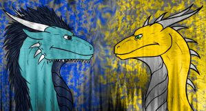 Collab: Staredown by NobilisKrypton