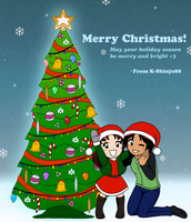 Xmas 2011 Greetings by K-Shinju88
