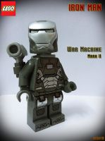 LEGO Iron Man War Machine Mark II by areev19