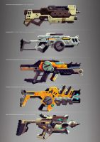 weapon set 2/2 by radiolol