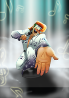 Music Meister_Reach Out To Me by pink-ninja