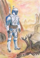 Jango Fett by earlybird-obi-wan