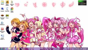 Pretty Cure Leaders Wallpaper by RoseGal55