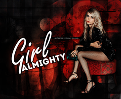 G I R L   A L M I G H T Y by AHTZIRIDIRECTIONER