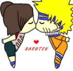 NaruTen kiss-dont fave here by NaruxTen-FC