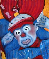 Clown with Bad Attitide by isha-1
