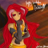 Happy Birthday Kataionna 8D by BakaNekoChanSan