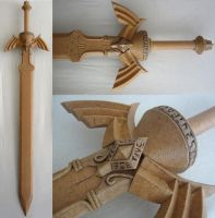 Magic Armor Link WIP - TP Master Sword finished by Rinkujutsu