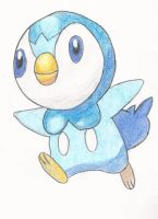 Piplup by babygirl8063