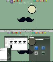 simple moustache by fuckyeahlucas