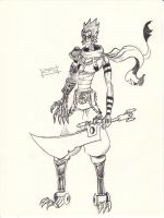 Scans Aug 2012 - Cyborg Warrior by MarvelousCoconuts