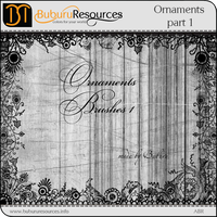 Ornaments part 1 brushes by BuburuResources