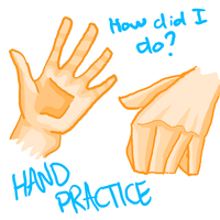 Hand Practice by Chrisily