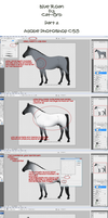 Blue Roan Tutorial - Part 2 by Cat-Orb