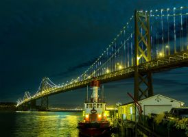 The Bay Lights by thevictor2225