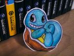 Paper Squirtle by pettyartist