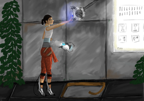 Portal - The Part Where You Forgive Him by fadedsheep