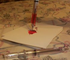 Red Needle Ink by Pokemon-Chick-1