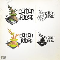 Carbon Forest Logotypes by inde-blokcrew