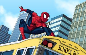 Marvel Infinite Comics: Ultimate Spider-Man 1 by LucianoVecchio