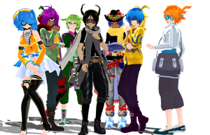 MMD Newcomers misc by Clonesaiga