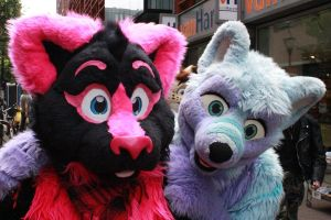 Pinky and Kee by FurryFursuitMaker