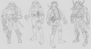 TMNT by Axel-Knight