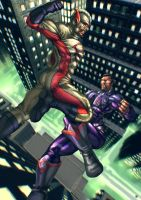 Captain Unity Vs Millenium Man! by Takeittothehead