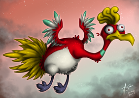 Ho-Oh by Retromissile