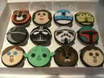 STAR WARS CUPCAKES.... Return Of Deliciousness by gertygetsgangster