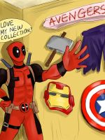 Deadpool's New Collection by SylvieZ