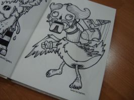 Humanoid Duck by GalactikCaptain