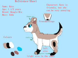Kate reference-sheet by Finchflight
