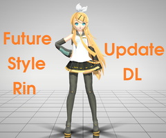 [MMD] DT Future Style Rin v3 update DL by segawa2580