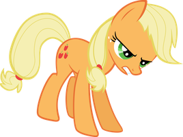 Applejack Determined by Sairoch